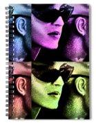 11438 Mannequin Series 11-14 Can You Keep A Secret Pop Art 2 Spiral Notebook