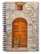 1164 Assisi Italy Spiral Notebook