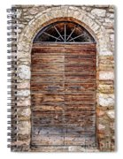 1165 Assisi Italy Spiral Notebook