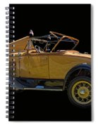 1930 Model A Ford Convertible Spiral Notebook