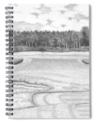 11th Hole - Trump National Golf Club Spiral Notebook