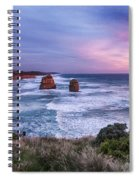 12 Apostles At Sunset II Spiral Notebook