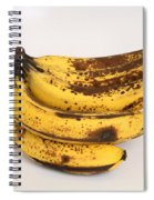 Banana Ripening Sequence Spiral Notebook