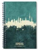 Berlin Germany Skyline Spiral Notebook