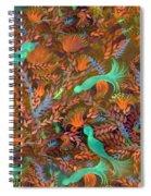 Birds Symphony Spiral Notebook