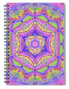 Birth Mandala- Blessing Symbols Spiral Notebook