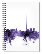 Dublin Ireland Skyline Spiral Notebook