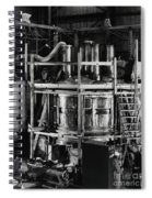 12 Foot Liquid Hydrogen Bubble Chamber Spiral Notebook