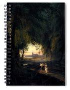 Forest Path Near Spandau Spiral Notebook