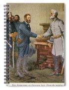 Lees Surrender 1865 Spiral Notebook