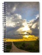May Nebraska Storm Cells Spiral Notebook