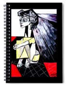 The Cape  Picasso Spiral Notebook
