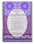 Sukkot-ushpizin Prayer- The Hosts... Spiral Notebook