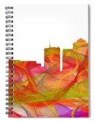Tucson Arizona Skyline Spiral Notebook