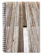 Wooden Panels Spiral Notebook