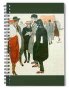 12264 Rafael De Penagos Spiral Notebook