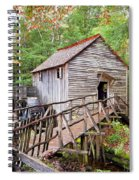 1267 Great Smoky Mountain Cable Mill Spiral Notebook