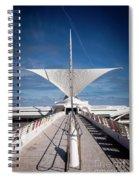 1273 Milwaukee Museum Of Art Spiral Notebook