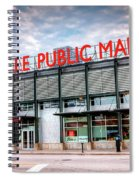 1275 Milwaukee Public Market Spiral Notebook