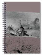 12th Panzer Division On The Move To Stalingrad August 1942 Color Added 2016 Spiral Notebook