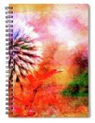 American Beach Cottage Art And Feelings Spiral Notebook