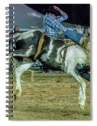 Bronco Riding Spiral Notebook