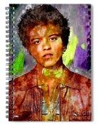 Bruno Mars Spiral Notebook