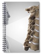 Cervical Vertebrae Spiral Notebook