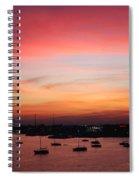 13- Crimson Dream Spiral Notebook