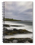 Dunstanburgh Castle Spiral Notebook