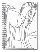 Homer: The Iliad Spiral Notebook
