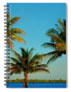 13- Palms In Paradise Spiral Notebook