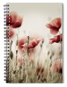 Poppy Dream Spiral Notebook
