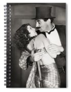 Silent Still: Man & Woman Spiral Notebook