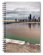 1323 A View From The Breakwall Spiral Notebook