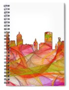 Buffalo New York Skyline Spiral Notebook