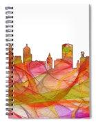 Buffalo New York Skyline Spiral Notebook