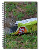 14- Chip Lovin' Squirrel Spiral Notebook