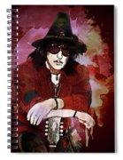 Deep Purple. Ritchie Blackmore. Spiral Notebook