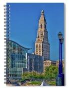 Downtown Hartford Spiral Notebook