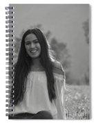 Golden Hour Senior  Spiral Notebook