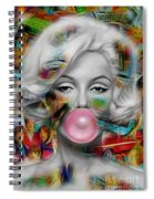 Marilyn Monroe Collection Spiral Notebook