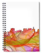 San Francisco California Skyline Spiral Notebook
