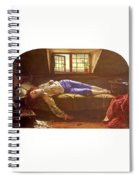 Wallis Henry The Death Of Chatterton Henry Wallis Spiral Notebook