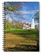1406 North Point Lighthouse Spiral Notebook
