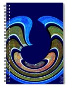 1408 Abstract Thought Spiral Notebook