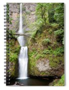 1417 Multnomah Falls Spiral Notebook