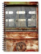 1449 Illinois Trolley Museum Spiral Notebook