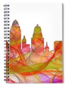 Cincinnati Ohio Skyline  Spiral Notebook