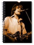 #15 Enhanced In Amber Spiral Notebook